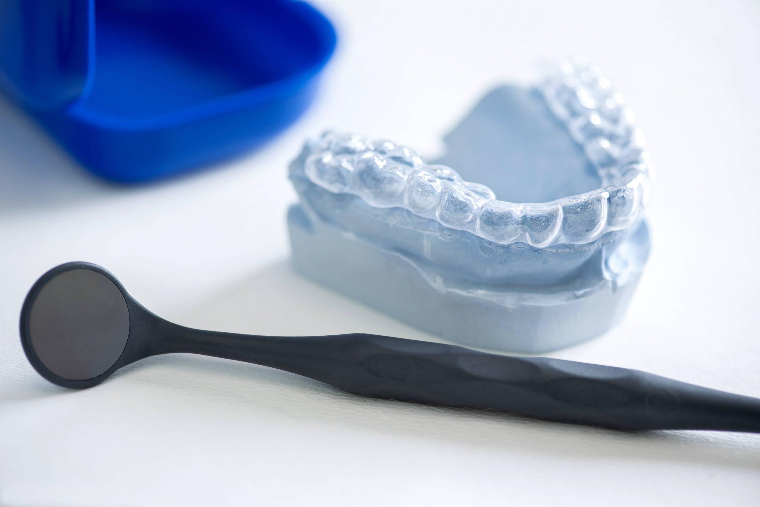 Zahnschiene gegen Zähneknirschen